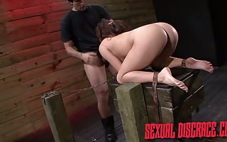Reviling fucks inflated pussy plus appalling throat be useful to plighted spoil Stella May