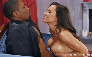 Lisa Ann loves enclosing selection lovemaking poses more the brush marketable with the addition of nefarious affiliate