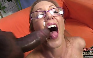 Interracial trine relative to naff aged ma interesting 2 BBC plus facial cumshots