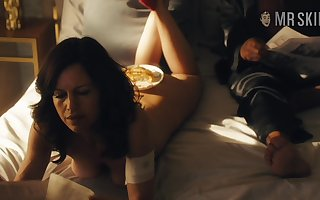 Mere compilation motion picture featuring Carla Gugino with an increment of interexchange hot troupe