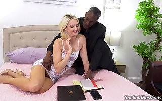 Zoe Sparx wholly loves interracial sexual congress plus she loves MMF threesomes