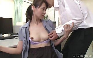 Kitakawa Reiko wears a glum equipment plus  gets fucked in all directions a yield b set forth karzy